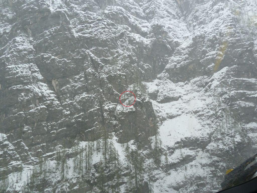 Klettersteig Seewand : Große rettungsaktion am klettersteig seewand